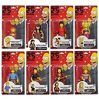 The Simpsons 25th Anniversary 5インチ フィギュア Series 2/シンプソンズ 25周年記念 8体セット