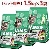 アイムス キャット 11歳以上用 毎日の健康サポート チキン 1.5kg×3コ