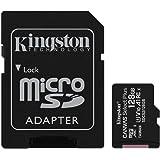 キングストン microSD 128GB UHS-I U1 V10 A1 Nintendo Switch動作確認済 アダプタ付 Canvas Select Plus SDCS2/128GB 永久保証