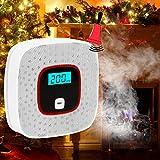 Duomishu 一酸化炭素警報機 CO有毒ガス 電池式 音声警報 防災 アラーム 寝室 階段 台所
