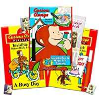 Curious George Giant Colouring and Activity Book