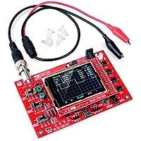 Quimat DSO138 オシロスコープ 1Msps SMD 日本語マニュアル 電子工作 プローブ付き(完全に組み立て)