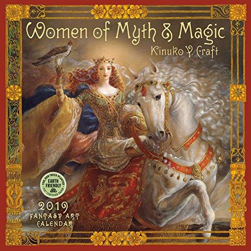 Women of Myth & Magic Fantasy Art 2019 Calendar