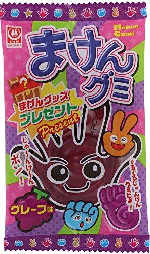 杉本屋製菓 まけんグミ グレープ味 15g×20袋