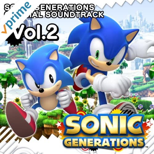 SONIC GENERATIONS OFFICIAL SOUNDTRACK Vol.2