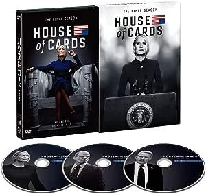 ハウス・オブ・カード 野望の階段 ファイナルシーズン DVD Complete Package