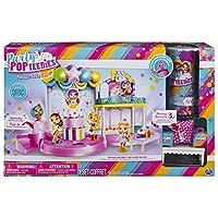 パーティーpopteenies PoptasticパーティーPlayset with紙吹雪、Exclusive Collectible Mini人形andアクセサリー、for Ages 4and Up