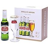 【Amazon.co.jp限定】 【オリジナルグラス付き】ステラアルトワ 瓶 [ 洋酒 ベルギー 330ml×4本…