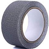 NYSh 滑り止めテープ 貼るだけ 屋外 屋内 耐水 すべり止め 転倒防止 幅:50mm 巻長:10m (10m/グレー)