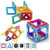 マグネットブロック 磁気おもちゃ 磁石ブロック マグネット 立体パズル 磁石おもちゃ 磁石付き積み木 カラフル磁性構築ブロック 創造力と想像力を育てる 幾何学認知 モデルDIY 子どもおもちゃ 男の子のおもちゃ 女の子のおもちゃ 四角 三角 六角 アルファベット 数字カード 車輪 手推し