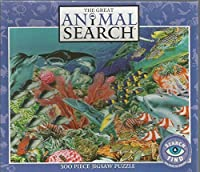 The Great Animal Search 300 Piece Search & Find Jigsaw Puzzle: Magical World
