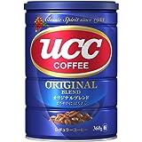 UCC コーヒー 豆(粉) オリジナルブレンド 缶 360g