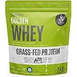 Choice GOLDEN WHEY ( ゴールデンホエイ ) ホエイプロテイン 抹茶 1kg [ 有機抹茶使用 / 乳酸菌ブレンド / 人工甘味料不使用 ] GMOフリー タンパク質摂取 グラスフェッド ( プロテイン / 国内製造 ) 天然甘味料