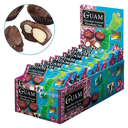 グアムお土産 グアム マカデミアナッツチョコレート ミニパック 1箱18袋入り