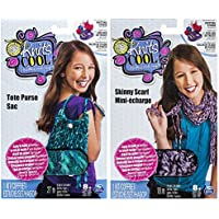 Knit's Cool Skinny Scarf and Tote Purse Bundle by Spin Master [並行輸入品]