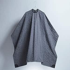 中村商店 カッティングケープ プロフェッショナル 散髪ケープ カットクロス バーバー 美容室 理容室 (Camo gray)
