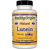 Healthy Origins Lutein Lutemax 2020 Supplement, 20 mg, 60 Count