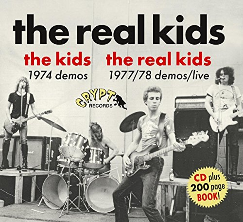 THE KIDS NOVEMBER 1974 DEMOS/THE REAL KIDS SPRING 1977 DEMOS [CD] (204 PG BOOKLET)