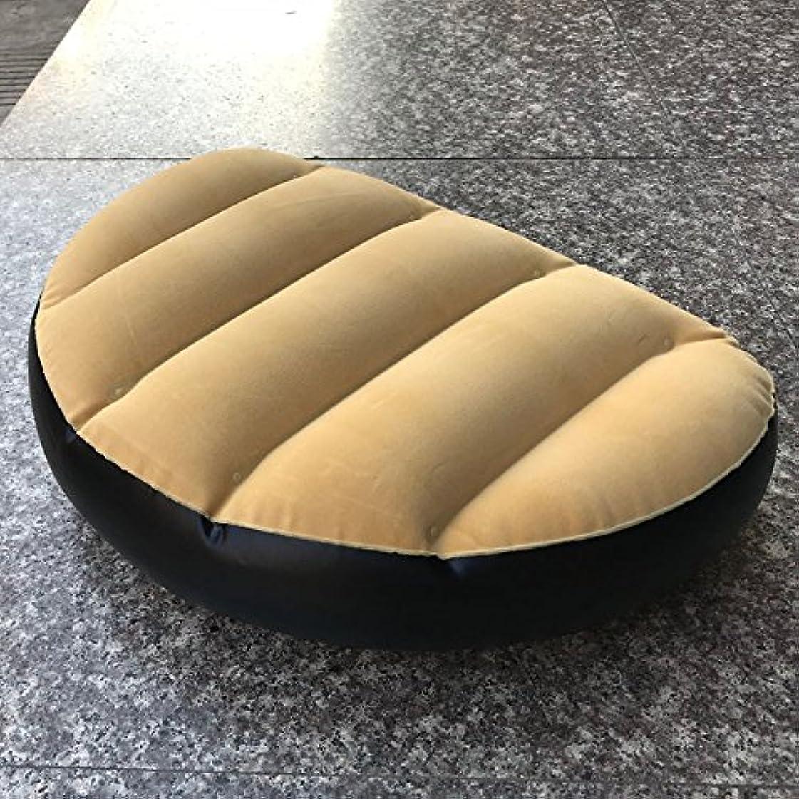 好ましい主張樫の木エアー インフレータブルクッション 空気入れ シートクッション 膨張収縮容易 椅子 軽量 PVC レジャー/カヌー/ボート/沖釣り/アウトドア