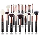 Jessup Brand 25pcs Professional Makeup Brush set Beauty Cosmetic Foundation Power Blushes eyelashes Lipstick Natural-Syntheti