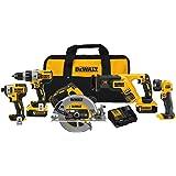 DEWALT 20V MAX* XR Cordless Drill Combo Kit, Brushless, 5-Tool (DCK594P2)