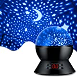 MOKOQI Star Projector Night Lights for Kids With Timer, Gifts for 1 - 14 Year Old Girl and Boy, Room Lights for Kids Glow in