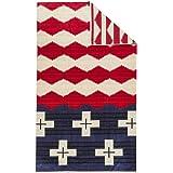[ ペンドルトン ] PENDLETON タオルブランケット オーバーサイズ ジャガード タオル XB233-52218 ブレイブスター Oversized Jacquard Towels Brave Star 大判 バスタオル [並行輸入品]