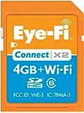 Eye-Fi Connect X2 4GB ワイヤレスSDカード EYEFI4CN 並行輸入品