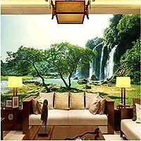Xbwy 居間の壁3 Dの壁のペーパー壁画のための注文の自然な3Dの壁紙-250X175Cm