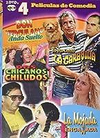 4 Pelicules De Comedia 2 [DVD]