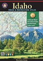 Benchmark Maps Idaho Road & Recreation Atlas