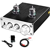 FX AUDIO Home Audio GE5654 Tube Preamp—Sound Quality Upgrade Electronic Hi-Fi Stereo Vacuum Tube Preamplifier with Bass & Tre