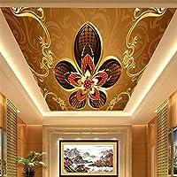Wapel 大型の天井天井は、 3D の壁紙、ベッドルーム、カラオケバー、リビングルーム、個人化されたカスタム 300 X 210 cm
