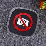 ZooooM 撮影禁止 マーク エンブレム ステッカー 盗撮 カメラ 3D 立体 看板 ZM-SATUKIN