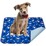 Yangbaga Washable Pee Pads for Dogs, 4 PCS Non Slip Puppy Pads, 16x23.6in Whelping Pads with Great Urine Absorption, Odor Con