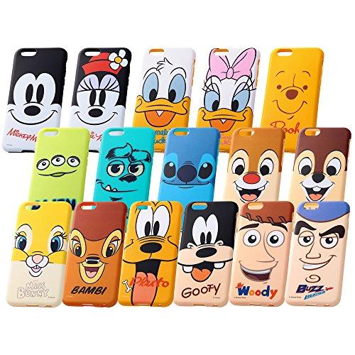 レイ・アウト iPhone6 (4.7インチ)用 ディズニー・クローズアップ・ソフトジャケット くまのプーさん RT-DP7H/PO