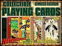 newtropolis & The FantasticファーPlaying Cards–Limited Edition 1152デッキをピーター・木製の実行