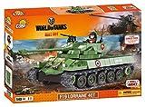World of Tanks, COBI 3025, F19 LORRAINE 40T, Small Army Model Kit, 540 building bricks