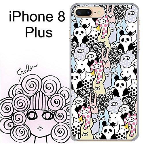 iPhone8 Plus スカラー ScoLar アニマル柄...