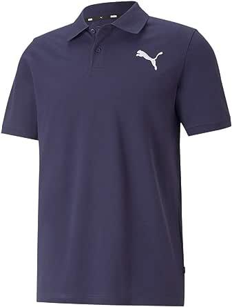 [プーマ] 半袖 ポロシャツ シンプル ESS ピケポロシャツ メンズ