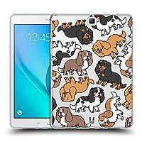 Head Case Designs キャバリア・キングチャールズ・スパニエル ドッグブリード・パターン 3 Samsung Galaxy Tab A 9.7 専用ソフトジェルケース