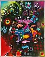 """Jimi Hendrix by Dean Russo 39.75""""x31.75"""" 125254-72-22FUSA"""