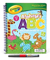 Alphabet ABC: Play & Learn with Wipe-Off Fun!