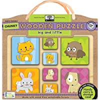 Innovative Kids Chunky Wooden Puzzles: Big And Little by Innovative Kids [並行輸入品]