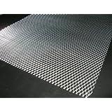 アルミ製メッシュネット1M×33cm銀/グリル加工/エアロ/網
