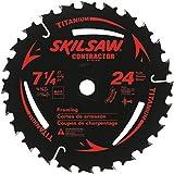 "SKIL 75924 24-Tooth Circular Saw Blade, 7 1/4"""