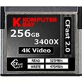 Komputerbay Professional 3400x CFast 2.0カード 256GB (最大読込 525MB/s、最大書込 475MB/s)[国内正規品] 制限付無期限保証