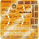 メビウスモデル バトルスターギャラクティカ 1/4105 ペガサス 用 ディテールアップ エッチングパーツ (エクステリア) (エッチング) (パラグラフィックス製)