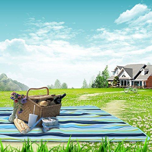 レジャーシート Dreamegg 簡単収納 シート 折り畳みで便利 防水マット ピクニック・運動会・キャンプ・花火大会・花見に大活動 2-4人用