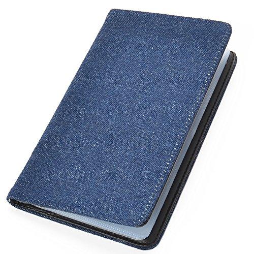 【B5-2】 カードケース カードホルダー 大容量 カード入れ デニム 名刺入れ メンズ レディース ■DENM-CARD-MJ■(インディゴ)